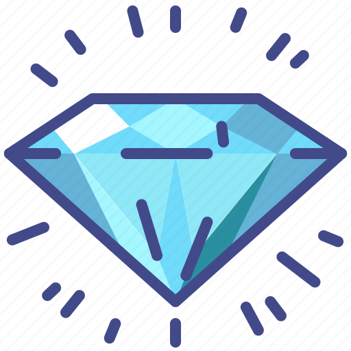 diamond, gem, propositions, value icon