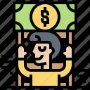 bonus, incentive, motivation, payment, reward