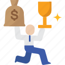 incentive, business, employee, motivation, motivate, inspiration icon