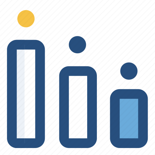 analytic, business, chart, rank icon