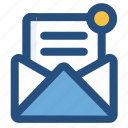 invoice, mail, office icon