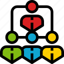 business, communication, group, level, network, organization, social