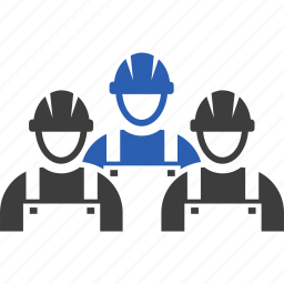 construction, crew, work, workers icon