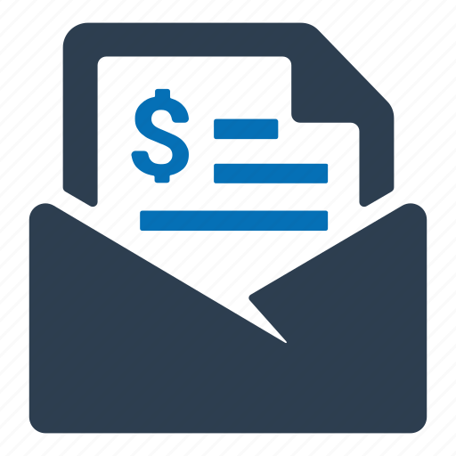 bill, invoice, payment icon
