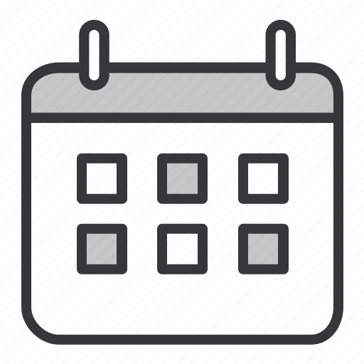 busines, calendar, office icon