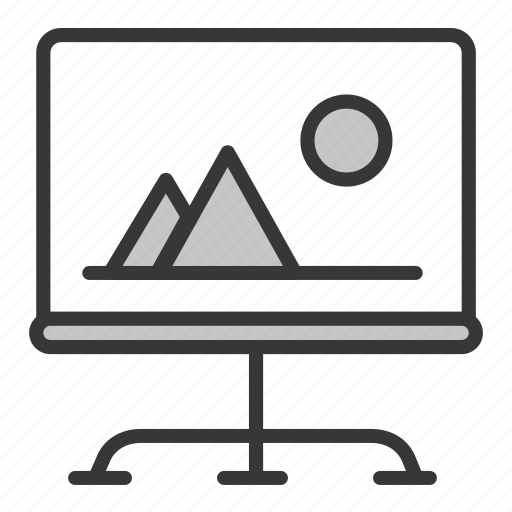 business, office, presentation icon