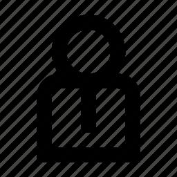 avatar, businessman, profile, user icon