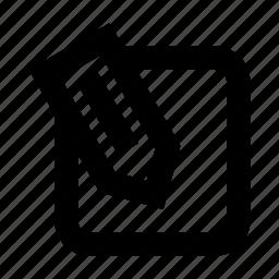 design, edit, notes, pencil icon