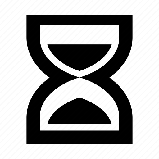 deadline, hourglass, sandglass, timing icon