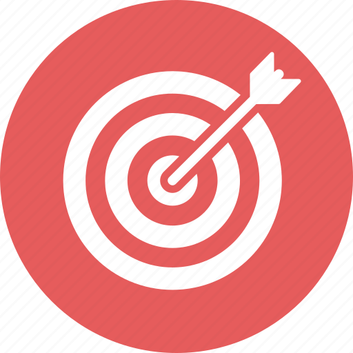 aspiration, darts, goals, target icon