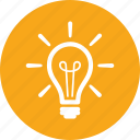 brainstorming, creativity, idea, light bulb