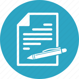 contract, cv, document, file, resume icon