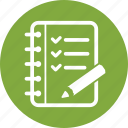 checklist, tasks, to do list icon