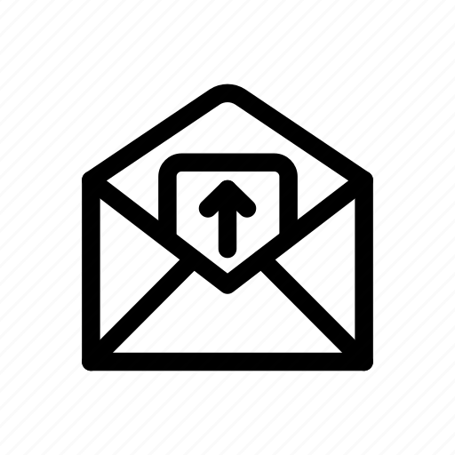 file, internet, mail, network, receiving, sending, uploading icon icon