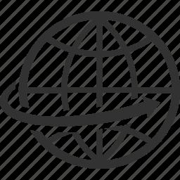 communication, global, navigation, network, worldwide icon