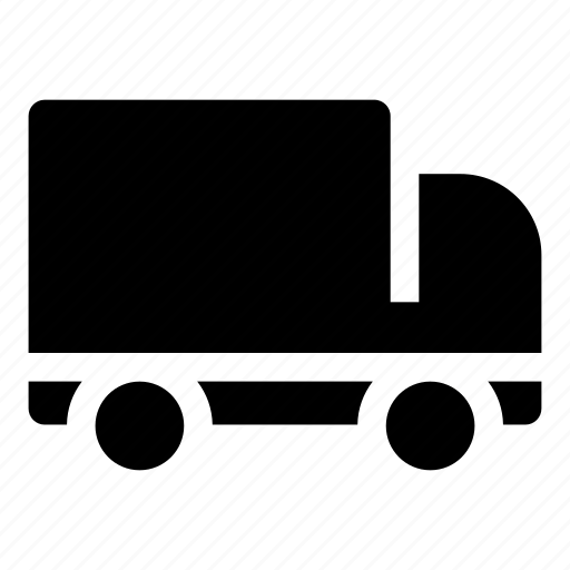 delivery, shipping, transport, truck, van, vehicle icon