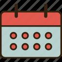 .svg, business, calendar, office icon