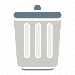 bin, container, dust bin, office, recycle, recycle bin, waste receptacle icon
