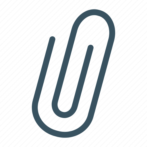 clip, office, paper clip, school, stationary icon