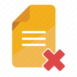 business, document, download failed, error file, file, office icon
