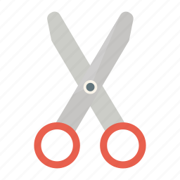 business, cutting instrument, office, scissors, trimmer icon