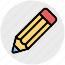 draw, edit, office, pen, pencil, write icon