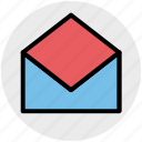 envelope, letter, mail, message, open, open envelope icon