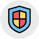 antivirus, business, insurance, safe, security, shield icon