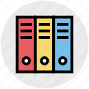 album, archive, books, business, documents, library icon