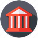 bank, house, money icon