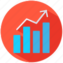 chart, diagramm, growth, success icon