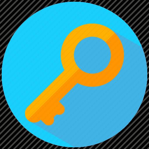 key, lock, login, unlock icon
