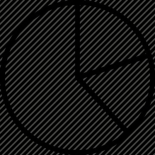 analytics, money, pie chart icon