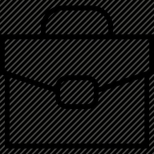 brief, portfolio, suitcase icon