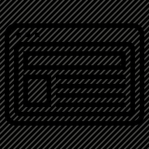 site, web padge icon