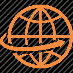 communication, global, navigation, worldwide icon