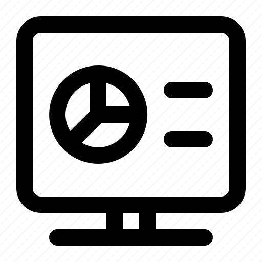 business, chart, diagram, finance, graphic, presentation icon