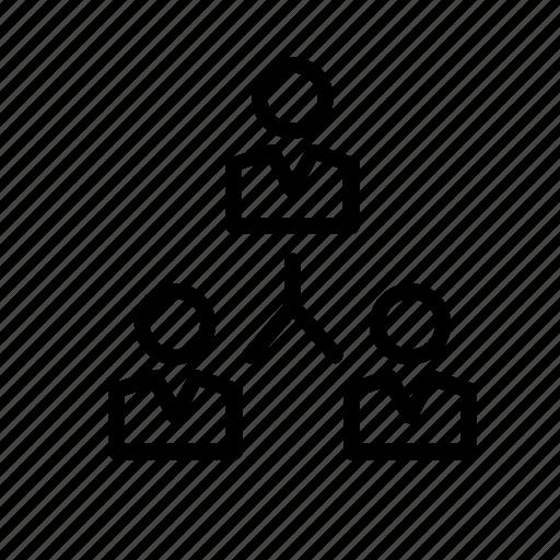 business, organization, organizational, teamwork, work, worker icon