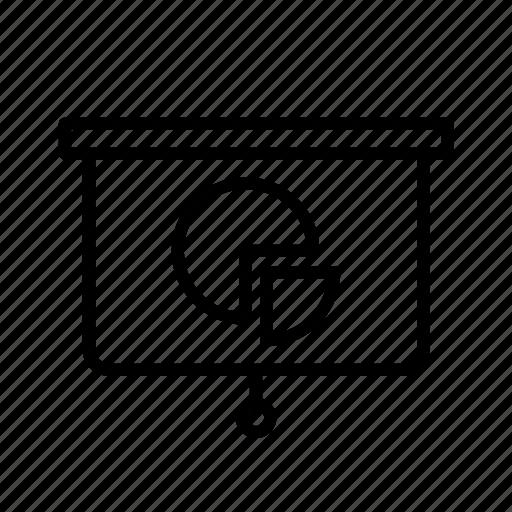 blackboard, graphic, infographic, presentation, results, whiteboard icon