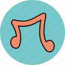music, note, sound icon icon