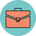 bag, case, office, office bag, portfolio icon icon
