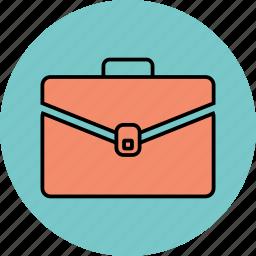 bag, case, office, office bag, portfolio icon icon