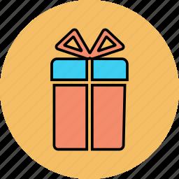 box, free, gift, present icon icon