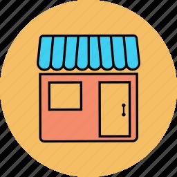 market, market store, shop, store icon icon