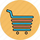 basket, buy, cart, purchase, sho, shop, shopping icon