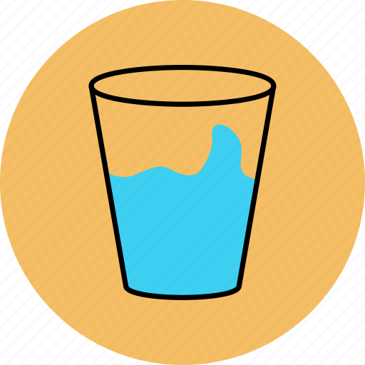 drink, glass, mineral, water icon icon