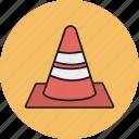 traffic, traffic cone, vlc icon icon