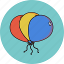 ballon, party, valentine icon icon