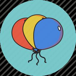 ballon, party, valentine icon icon