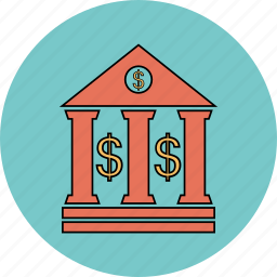 bank, building, government, panteon icon icon